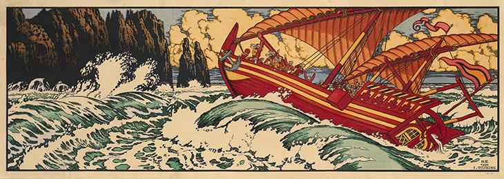 Sinbad the Sailor is perhaps the most famous literary representation of a shared Perso-Arabian history and culture of the Gulf region. Public Domain.