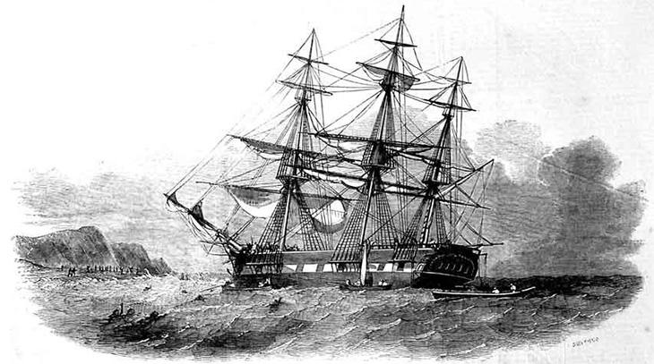The Centaur of Calcutta. From: Illustrated London News, Saturday 4 September 1852
