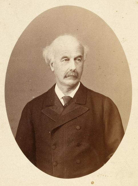 Photographic portrait of Pelly, 1882. (Via BNF/Europeana - PD)