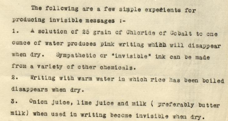 Extract from Circular Memorandum No. 4, dated March 16 1936, 'A Guide to Censorship Work for Police Officers'. IOR/R/15/2/191, f. 12