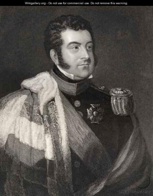 George Augustus Frederick FitzClarence, 1st Earl of Munster. Courtesy of Wikigallery.org