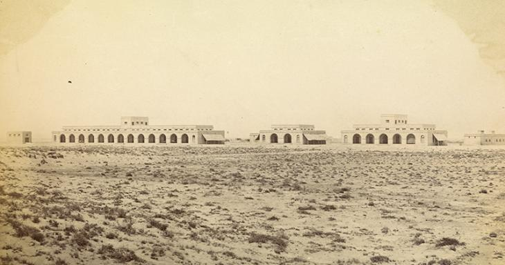 Telegraph Station, Jask, c. 1870. Photo 355/1/41