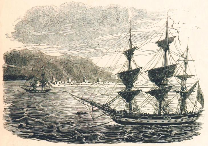 Ras al-Khymah, c. 1820s. © The British Library Board