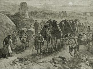 الرحلة عبر أفغانستان، ١٨٦٠