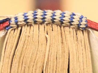 Replication of an Eighteenth Century Manuscript Binding