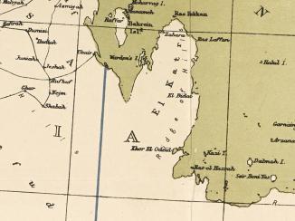 عندما لا تكفي الحماية البحرية : اتفاقية بريطانيا لحماية حدود قطر البحرية والبرية
