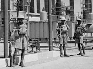 الإمبراطورية البريطانية في الخليج خلال الحرب العالمية الثانية